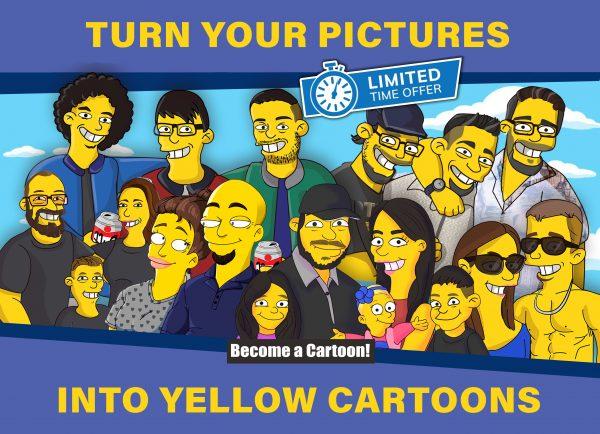 Custom Yellow Cartoon